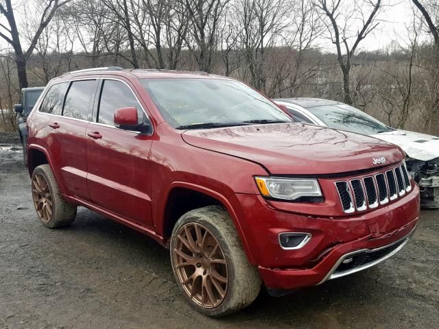 Salvage 2015 Jeep Grand Cherokee Overland Suv For Sale Salvage