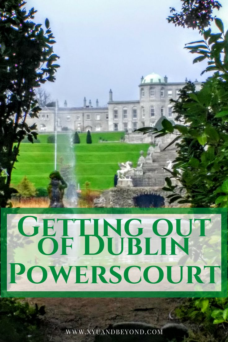 The Gardens at Powerscourt are the great attraction of the place. With stunning views of Sugarloaf Mountain they stretch over 47 acres via @https://www.pinterest.com/xyuandbeyond/