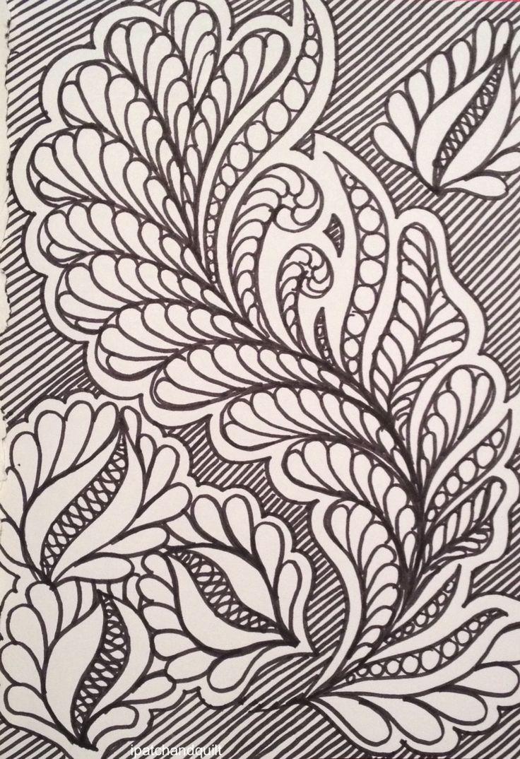 Oodles of doodles - part 3 https://ipatchandquilt.wordpress.com/2015/12/21/oodles-of-doodles-part-3/