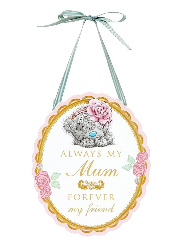 Me To You Verse Hanging Plaque - Mum
