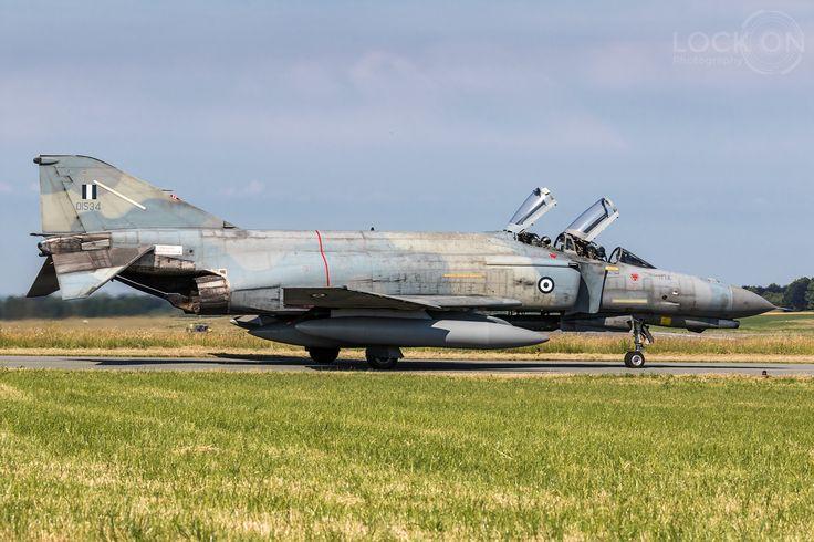 https://flic.kr/p/Wqzzqm | Hellenic Air Force F-4E Phantom II | Florennes, Belgium