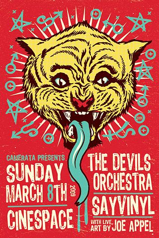 GigPosters.com - Devils Orchestra, The - Sayvinyl