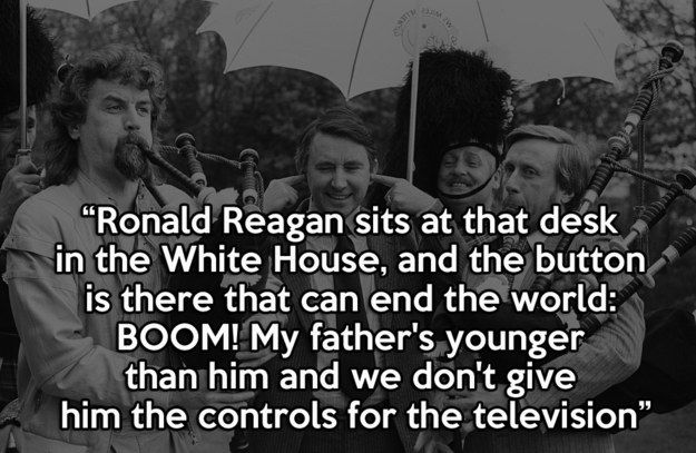 Billy Connolly, a national treasure