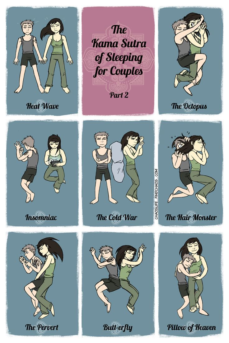 The Kama Sutra of Sleeping for Couples pt2