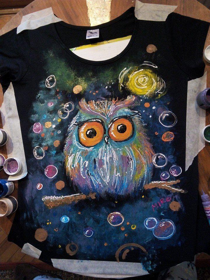 tricou pictat- 70 ron