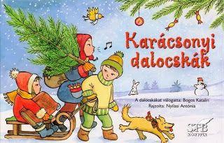 Marci fejlesztő és kreatív oldala: Karácsonyi dalocskák, a dalocskákat válogatta: Bogos Katalin, rajzolta: Nyilasi Antónia