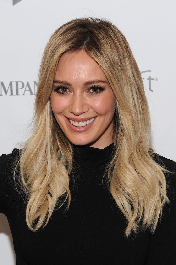 hilary duff's new hair is everything