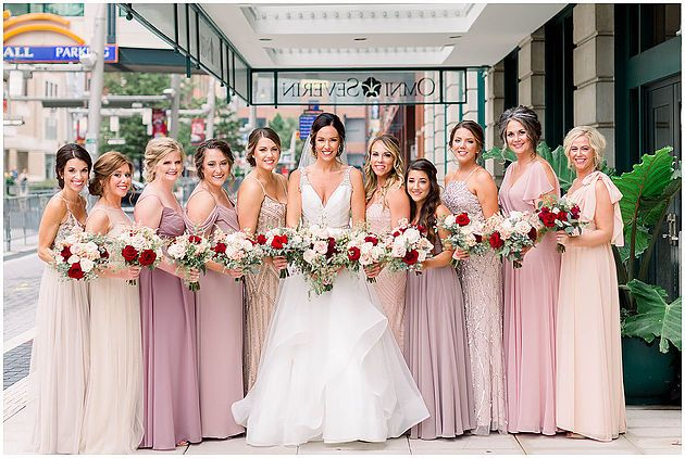 Blush Mismatched Bridesmaid Dresses Wedding Dresses Blush Pink Bridesmaid Gowns Mismatched Bridesmaid Dresses