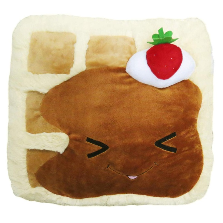 Cute Food Pillow : 17 Best images about Cute food pillows on Pinterest Smart cookie, Toys and Waffles