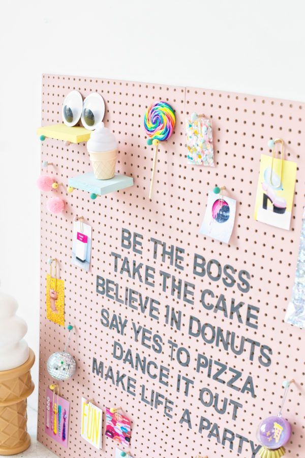 DIY Inspiration Pegboard (+ A Reader Contest with BEHR!) | studiodiy.com