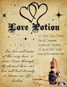 Book of shadows spells and potions
