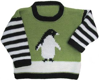 Penguin Pullover from Ravelry