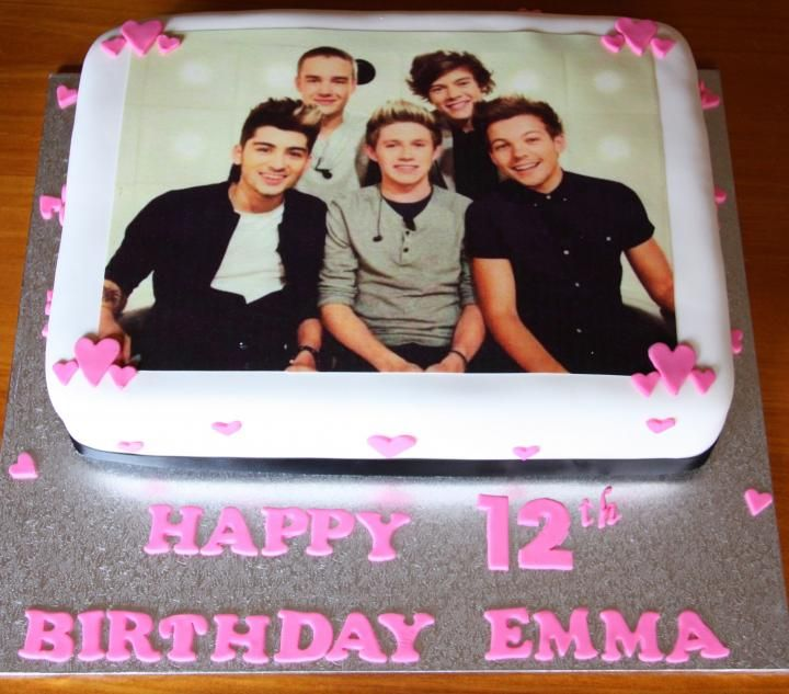 1 direction cake ideas | Pin Cute One Direction Photos Image Vectoring Software Cake on ...