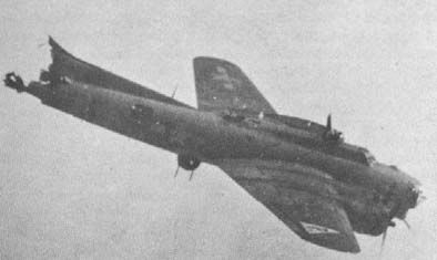 Jones was a tail gunner in a 385th Bomb Group B-17 bomber on a March 1945 bombing raid to Belgium. When it collided with another plane, Jones' bomber broke apart. Trapped in the tail section, Jones awaited his fate, falling 13,500 feet. Pulled unconscious from the wreckage, he woke up a few days later in a British field hospital. I'm not sure the fate of the other people on the plane but I hope they lived.