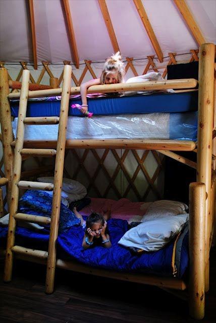 yurt camping in washington
