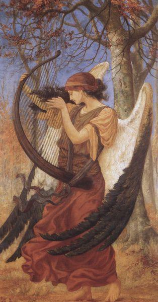 23silence:  Charles Sims (1873-1928) - Titania's awakening, 1896