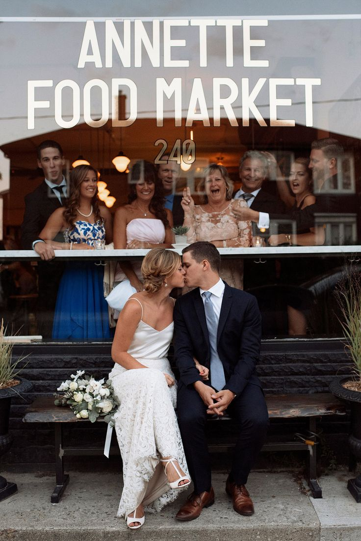 Small Wedding at Annette Food Market in the Junction neighbourhood / Kat Rizza Photography
