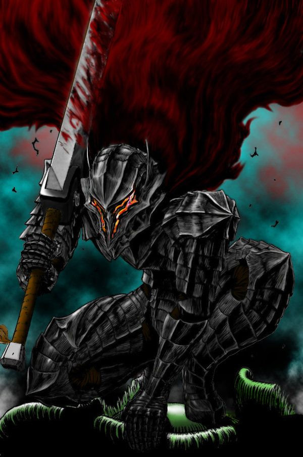 Guts Gone Berserk by ~0Gungrave0 | BERSERK | Pinterest ...