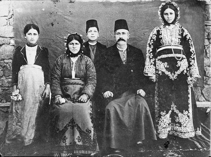 Kappadokya - Niğde'nin Dilmusun (Τελμησός), bugünkü Hançerli Köyünün bir aile.