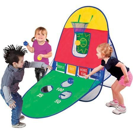 Sporting Playhut 3-in-1 Sports Arcade - Swings, Slides & Gyms