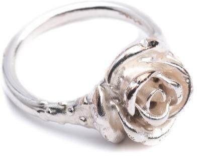 Leivankash Rose Pinky Ring