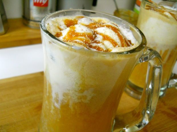 Apple Cider Floats - a Rachael Ray recipe