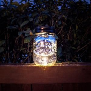 Charming Malibu Outdoor Bronze Solar Decorative Jar 8517 3503 01 At The Home Depot