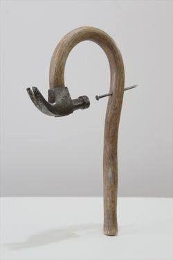 "Seyo Cizmic, Sculpture, ""Harakiri"""