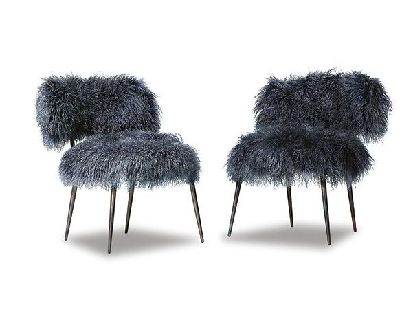 Cadeira lounge NEPAL by BAXTER design Paola Navone