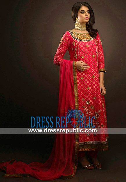 Latest Red Pakistani Party Dresses 2014 Buy Online Buy Online Latest Red Pakistani Party Dresses 2014 in Texas, Illinois and Virginia, USA. Great Wholesale Deals on Pakistani n Indian Clothing and Jewelry on Dressrepublic. by www.dressrepublic.com