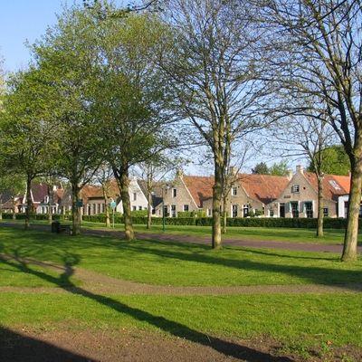 Het Dorp, Schiermonnikoog, Friesland.