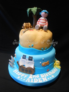 Pirate cake by Jen's House of Cakes