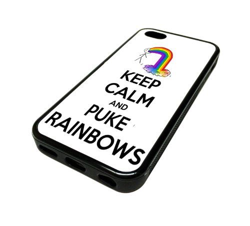 For Apple iPhone 5C 5 C Case Cover Skin Hipster Keep Calm Puke Rainbows Funny Love Teenager Quotes Teen DESIGN BLACK RUBBER SILICONE Teen Gift Vintage Hipster Fashion Design Art Print Cell Phone Accessories MonoThings,http://www.amazon.com/dp/B00JPLY7FO/ref=cm_sw_r_pi_dp_FoHttb0VPTA8YW72