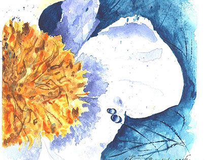 "Check out new work on my @Behance portfolio: ""white flower"" http://on.be.net/1djAwJo"
