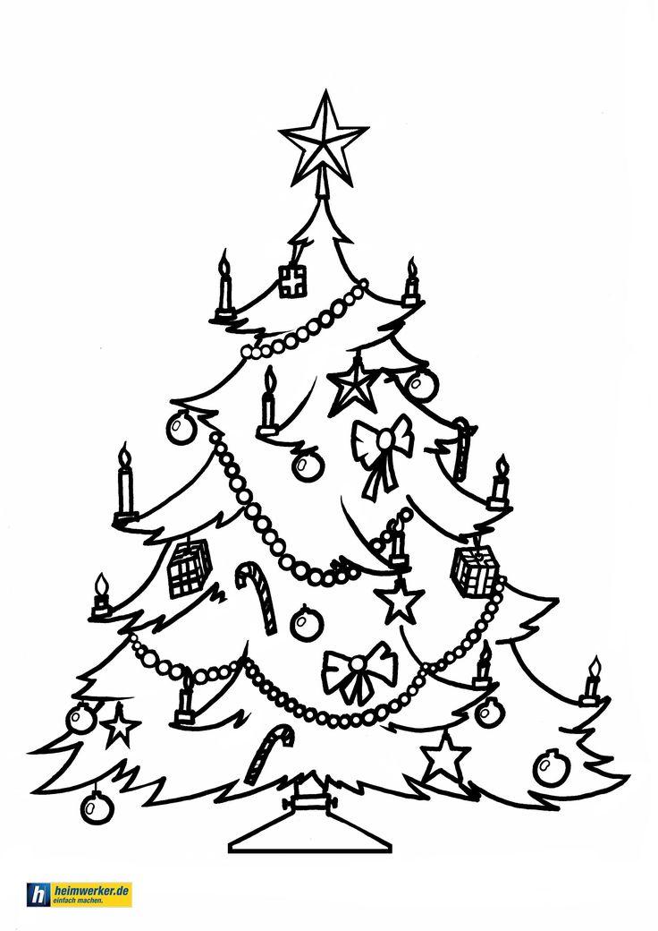 malvorlagen weihnachten und advent - kostenlose