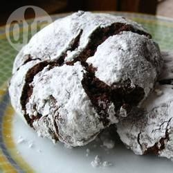 Chocolade browniekoekjes @ allrecipes.nl