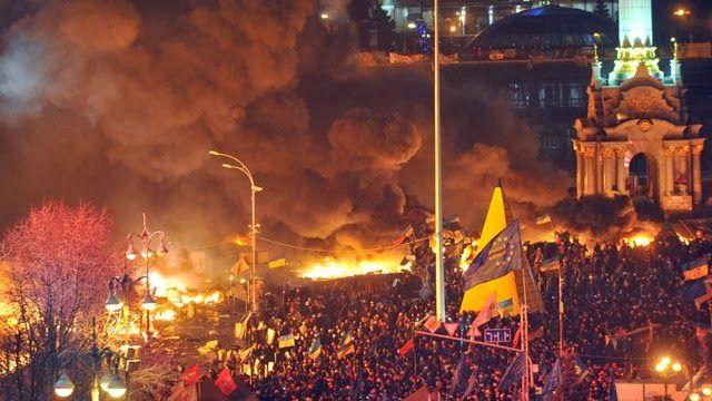 Es el infierno: al menos 25 muertos por violentos disturbios en Kiev