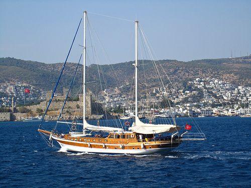 Sailboat cruise- Bodrum Harbor