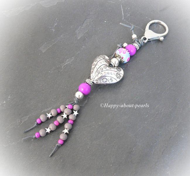 Schlüsselanhänger  von Happy-about-Pearls Trendschmuck & Accessoires auf DaWan… – Katja Werse