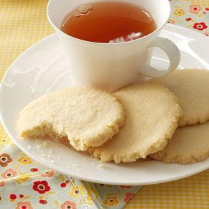 Lemon Sugar Cookies Recipe from Taste of Home -- shared by Eula Forbes of Wagoner, Oklahoma