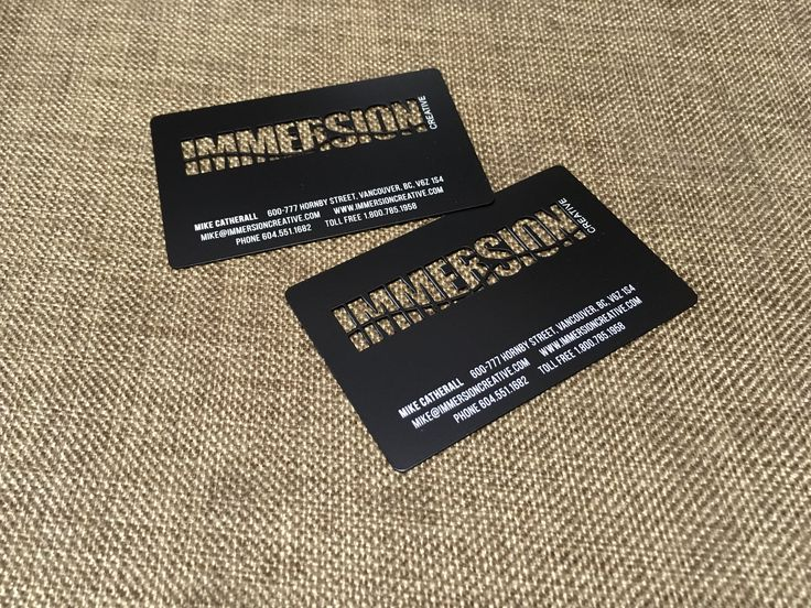 12 best metal business cards images on pinterest metal business matte black metal business cards reheart Gallery