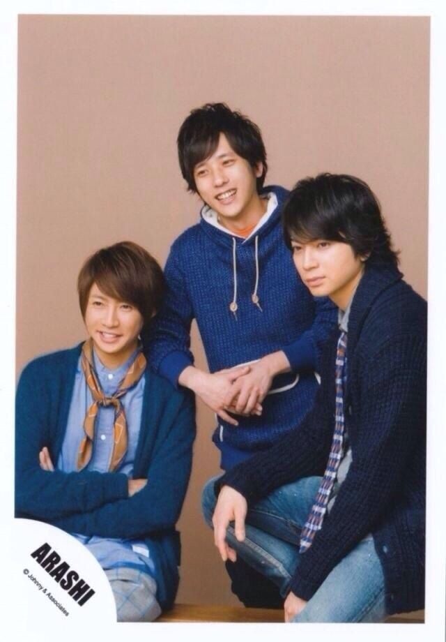 Aiba-chan×Nino×Jun