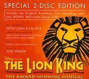 The Lion King [Original Broadway Cast] [CD & DVD]