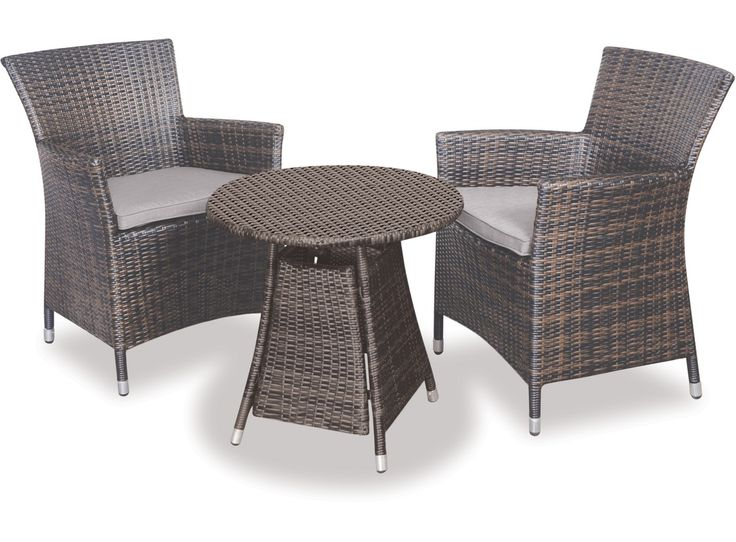 Small Outdoor Setting Part - 25: The Tasman 3-pce Setting Is A Great Option For A Small Balcony Or Outdoor