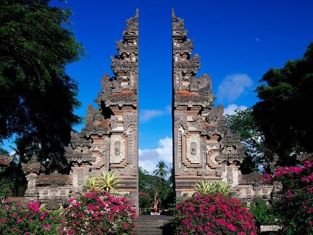 Bali, Indonesia ~ Paradise on Earth.  Pointed out as one of the best tourist destinations by multiple travel magazines.  ~SR