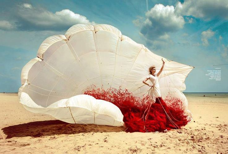 Parachute by Kristian Schuller {French Revue}