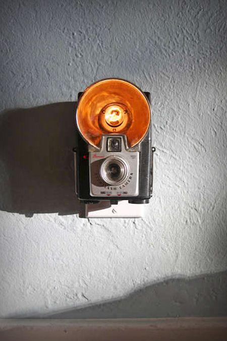 MUST Make this!!! Vintage Camera Nightlight