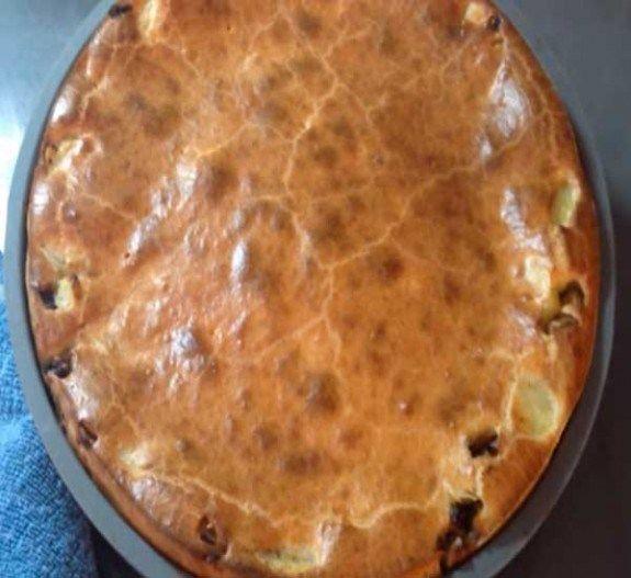 Как приготовить заливной пирог с картошкой на кефире