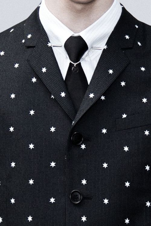 Dior Homme Hexagram Print