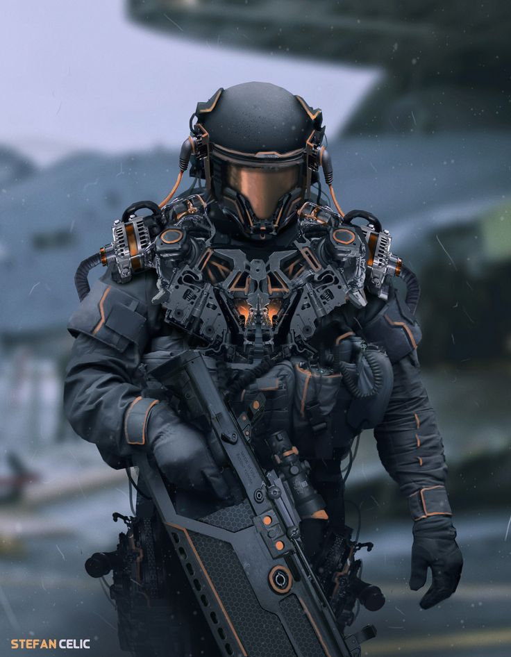 Soldier , Stefan Celic on ArtStation at https://www.artstation.com/artwork/E4xYe
